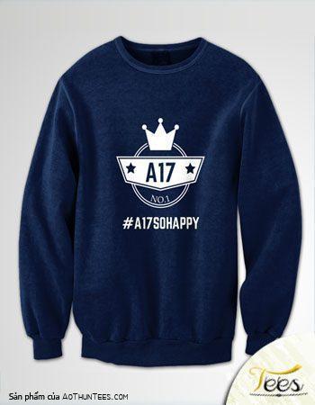 Áo sweater nỉ lớp 12A17 – THPT Hùng Vương