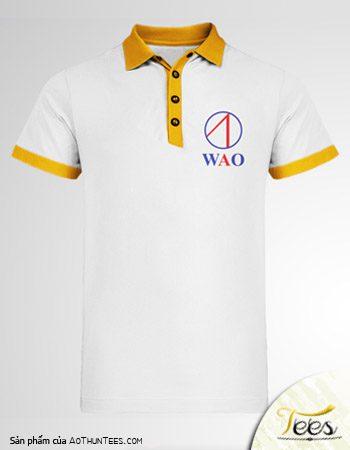 Áo thun đồng phục của Nhà không dây WAO