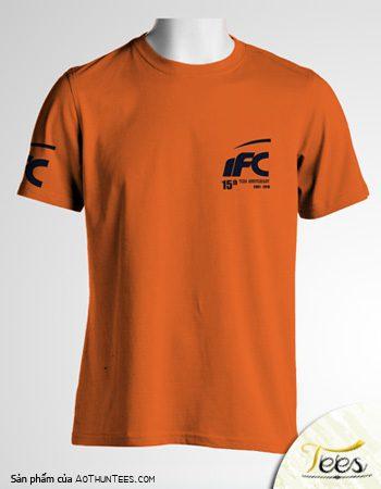 Áo thun đồng phục Công ty Kiểm toán IFC (Cam lợt)