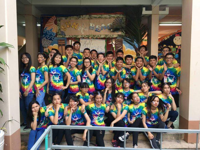 Áo thun Tie Dye – Lớp 12A1 Thoại Ngọc Hầu