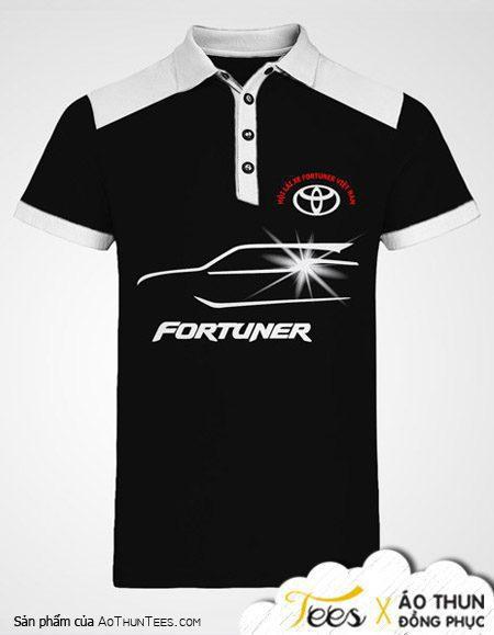 Áo thun đồng phục Toyota – Fortuner
