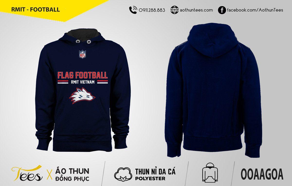 Áo hoodie RMIT VN Flag Football Club (SGS)