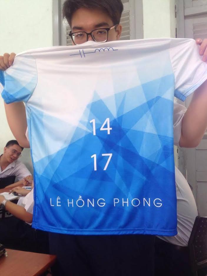 Áo thun lớp CL1 – Trường THPT Lê Hồng Phong