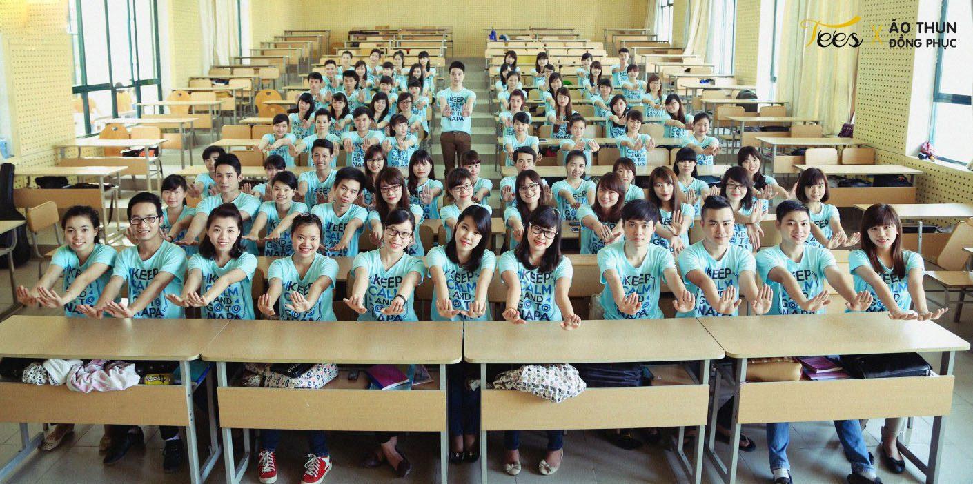 KH13HCH3 14 - Sắc xanh áo thun lớp KH13HCH3 – Học viện Hành chính Quốc gia