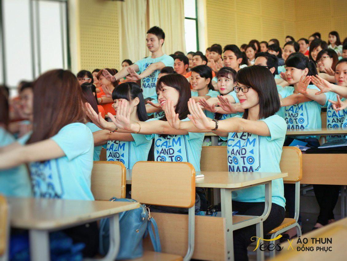 KH13HCH3 15 - Sắc xanh áo thun lớp KH13HCH3 – Học viện Hành chính Quốc gia