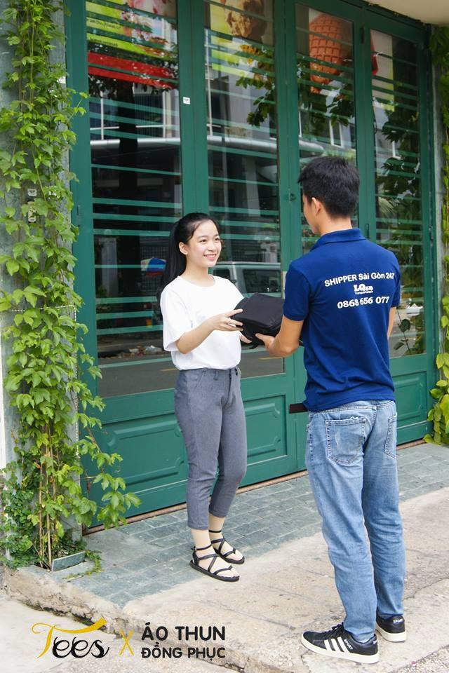shipersaigon247 4 - Tuyệt vời áo thun anh em Shipper Sài Gòn 247