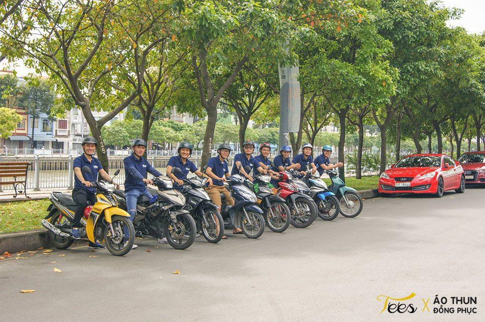 shipersaigon247 7 - Tuyệt vời áo thun anh em Shipper Sài Gòn 247