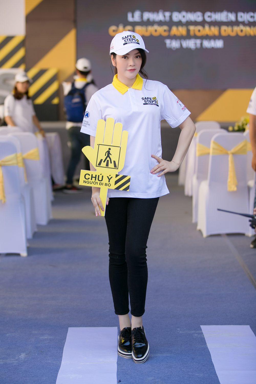 Ao thun Safe steps Road Safety 15 - Bừng sáng sự kiện Safe Steps của Liên Hợp Quốc tại Việt Nam với áo thun sự kiện