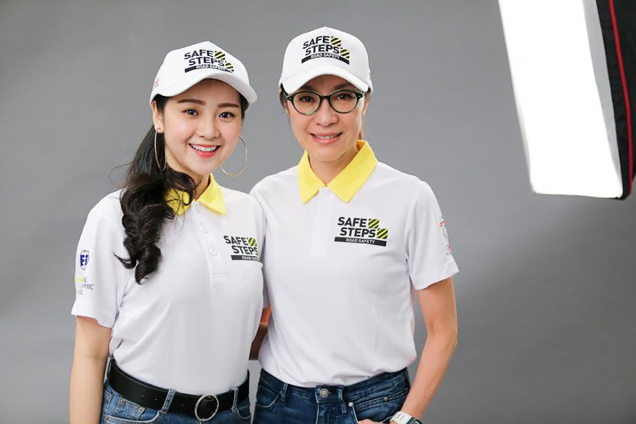 Ao thun Safe steps Road Safety 4 - Bừng sáng sự kiện Safe Steps của Liên Hợp Quốc tại Việt Nam với áo thun sự kiện