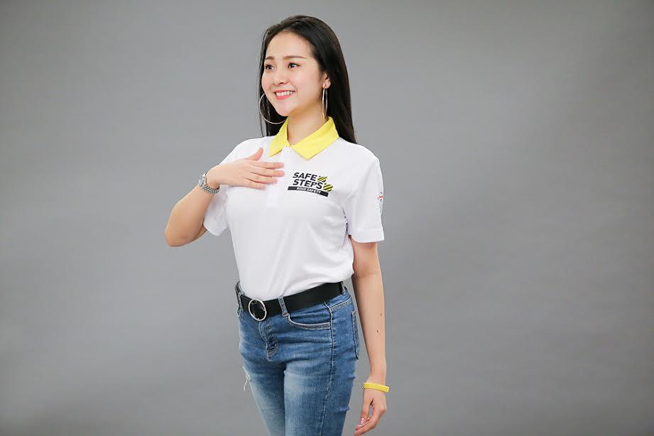 Ao thun Safe steps Road Safety 5 - Bừng sáng sự kiện Safe Steps của Liên Hợp Quốc tại Việt Nam với áo thun sự kiện