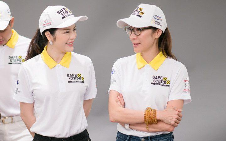 Ao thun Safe steps Road Safety 5a - Bừng sáng sự kiện Safe Steps của Liên Hợp Quốc tại Việt Nam với áo thun sự kiện