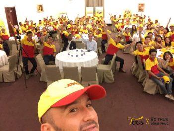 Tự hào chiếc áo thun vàng đỏ của DHL Việt Nam