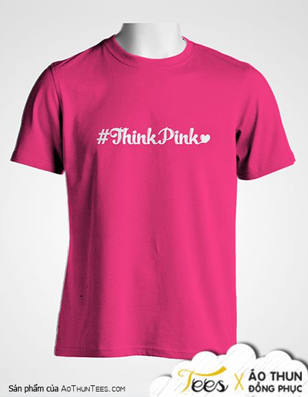 Áo thun Team Building #ThinkPink – Marry.vn