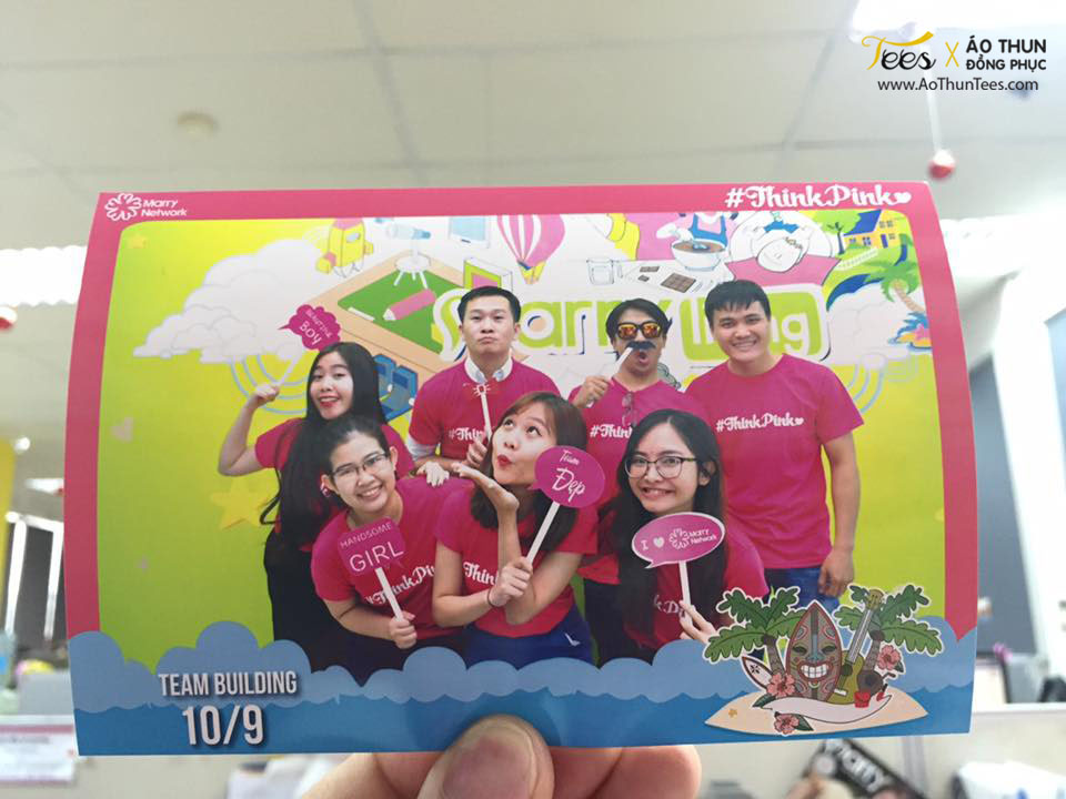 thinkpink marryvn 1 - Ửng hồng áo thun Teambuilding #ThinkPink – Marry.vn