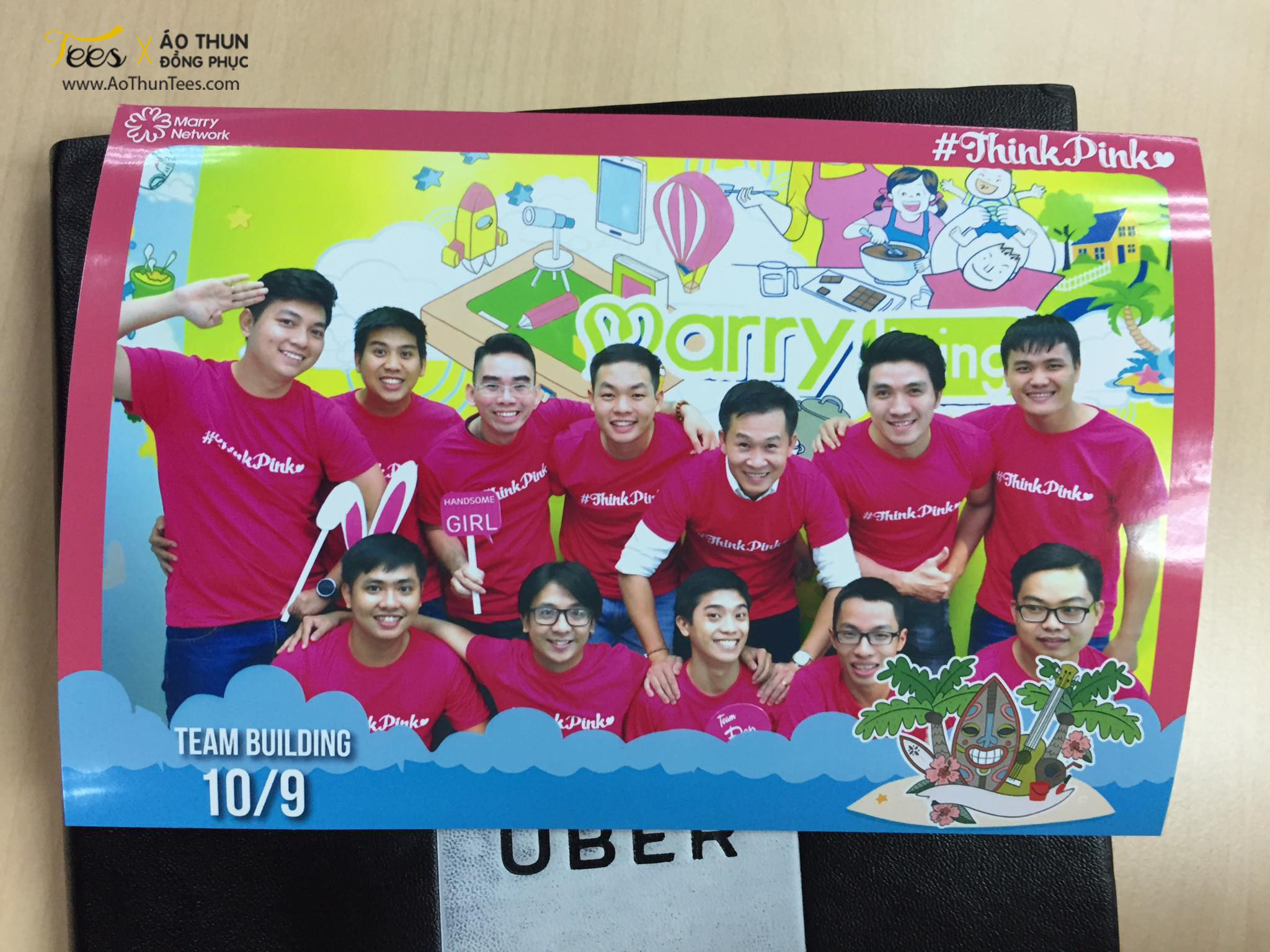 thinkpink marryvn 1a - Ửng hồng áo thun Teambuilding #ThinkPink – Marry.vn
