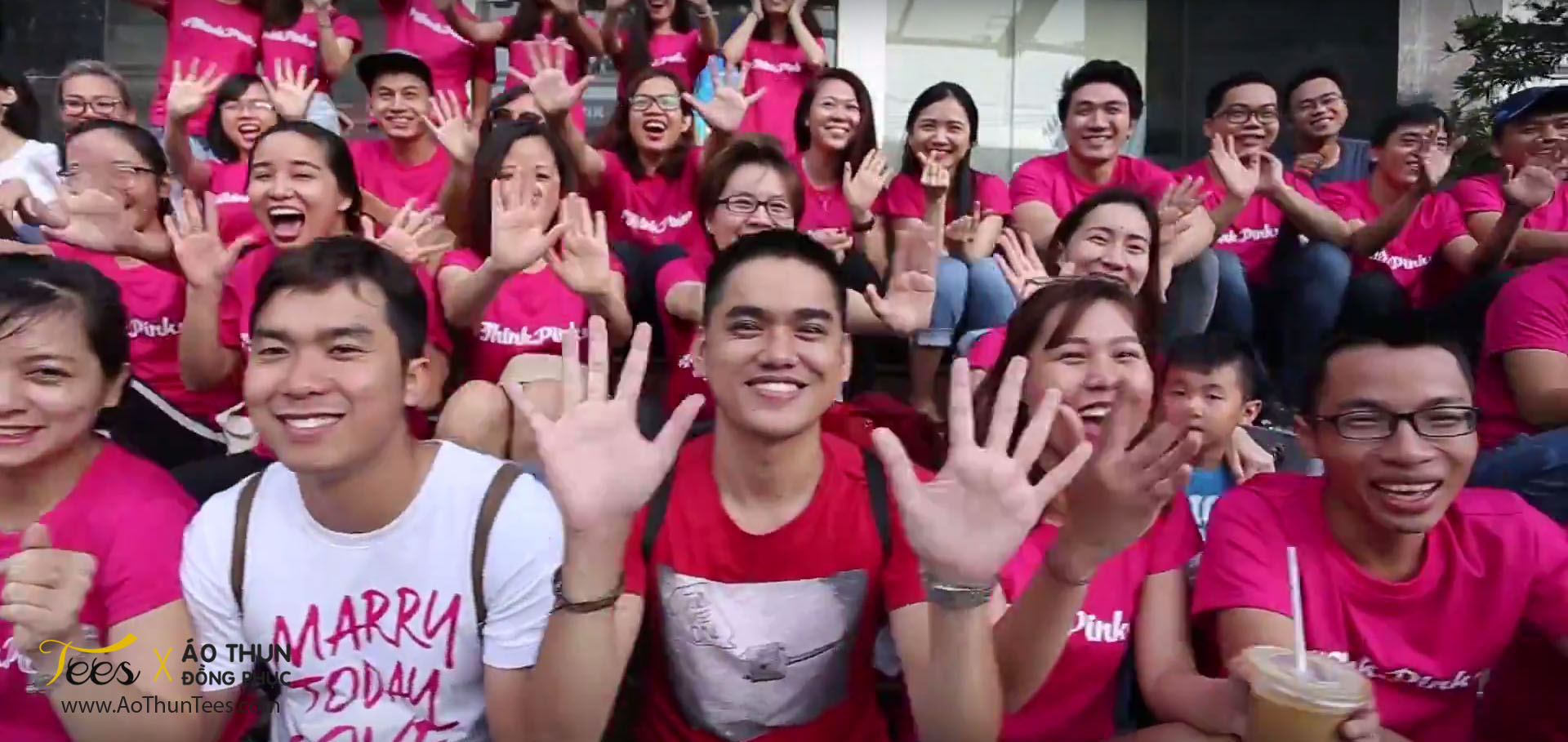 thinkpink marryvn1 - Ửng hồng áo thun Teambuilding #ThinkPink – Marry.vn