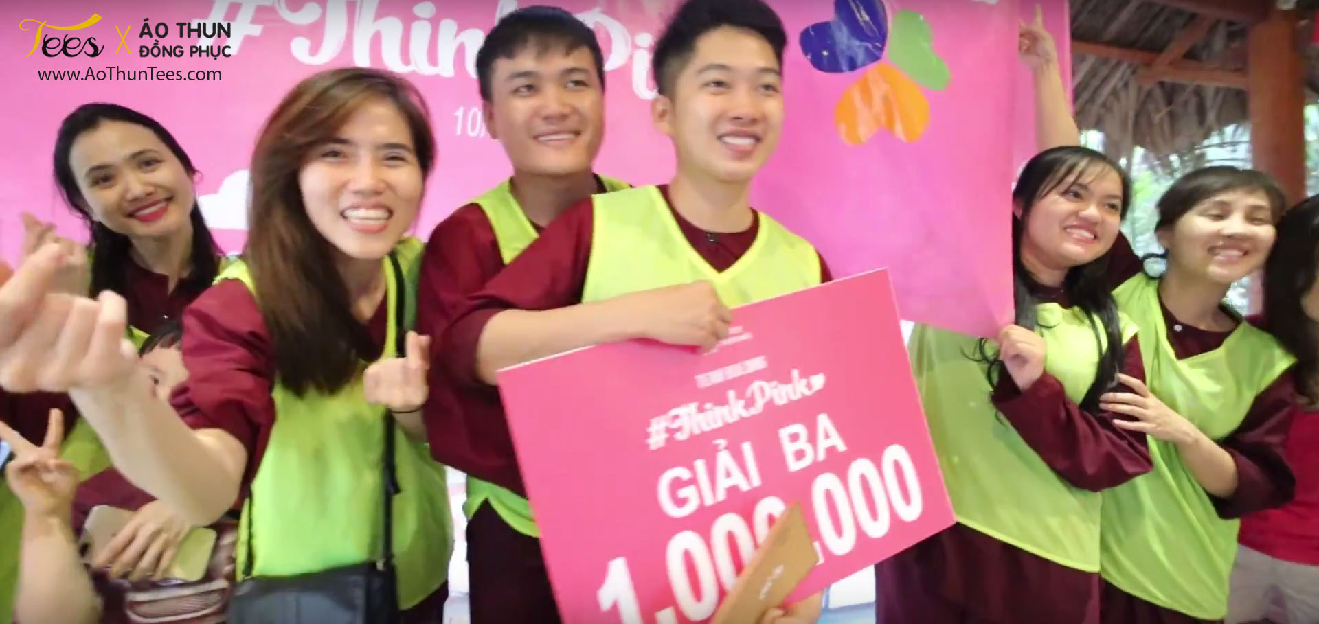 thinkpink marryvn10 - Ửng hồng áo thun Teambuilding #ThinkPink – Marry.vn