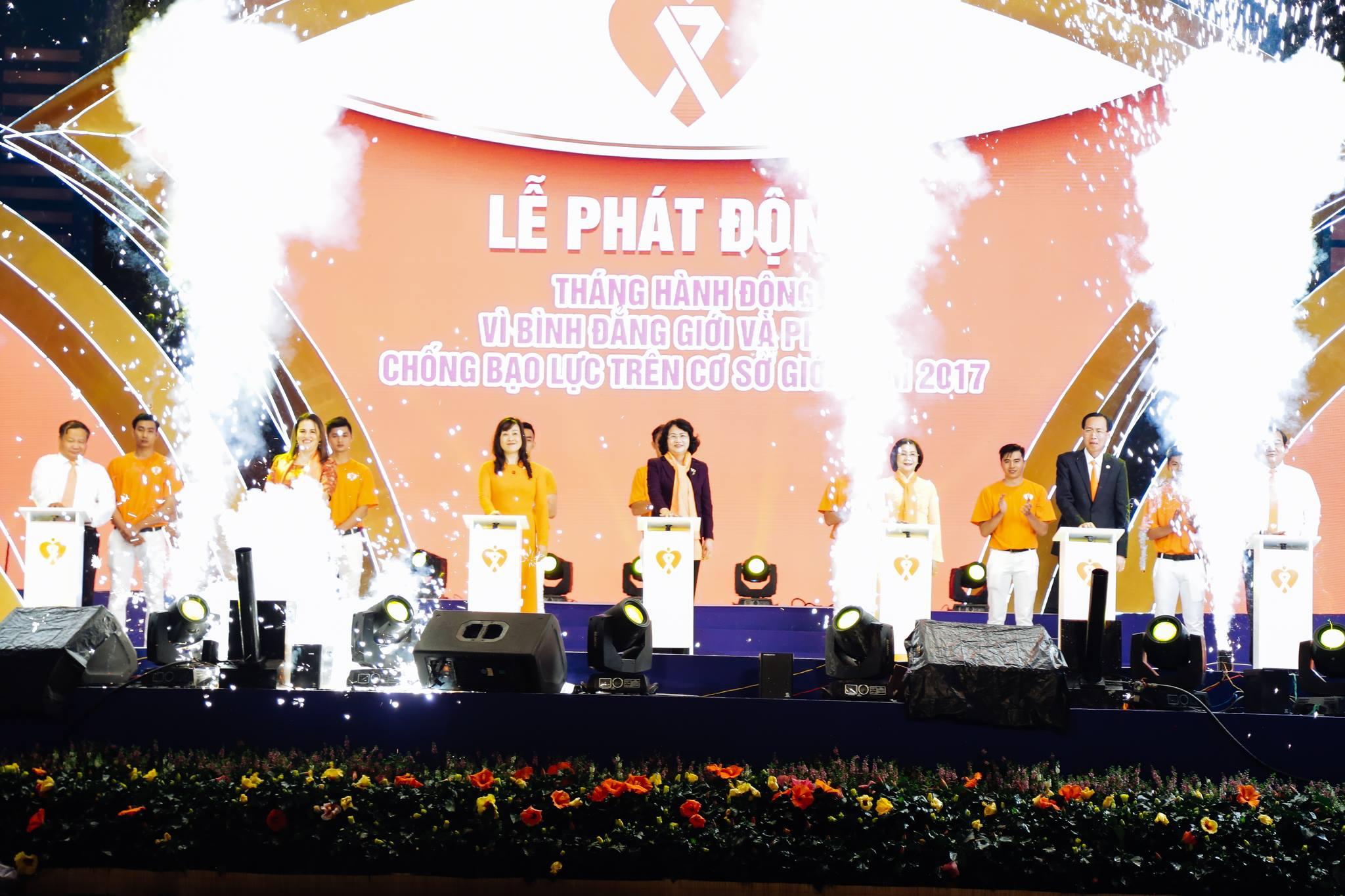 haylentieng2 - Sắc cam áo thun sự kiện UN Women Việt Nam