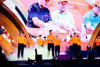 Sắc cam áo thun sự kiện UN Women Việt Nam