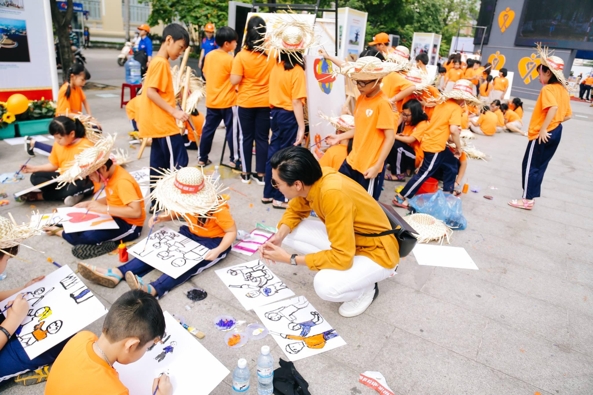 haylentieng5 - Sắc cam áo thun sự kiện UN Women Việt Nam