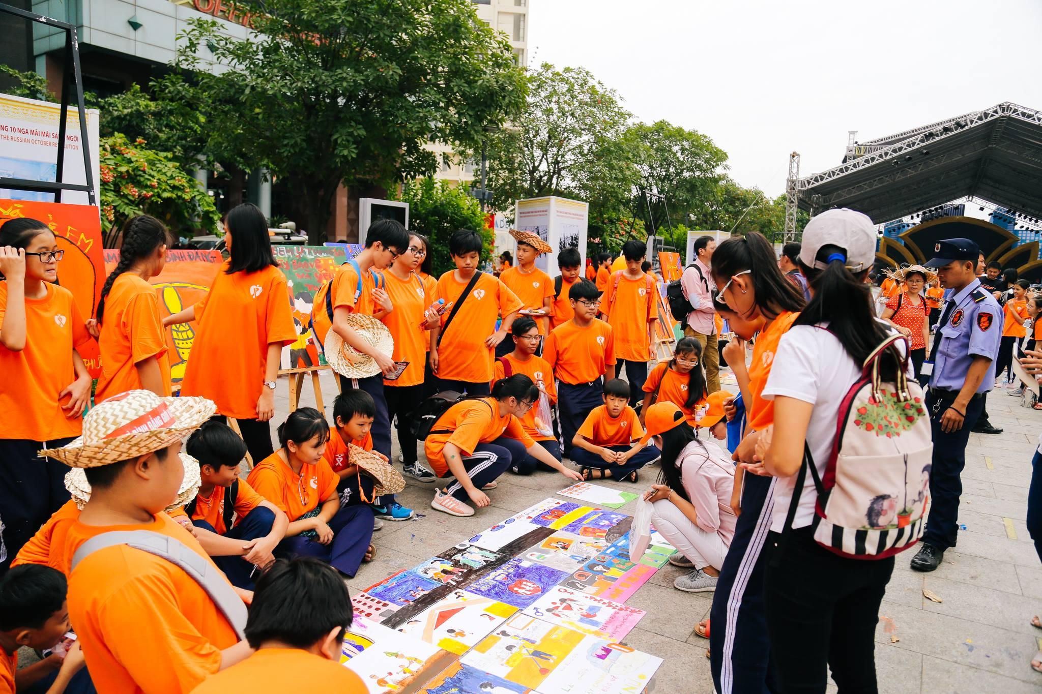 haylentieng6 - Sắc cam áo thun sự kiện UN Women Việt Nam