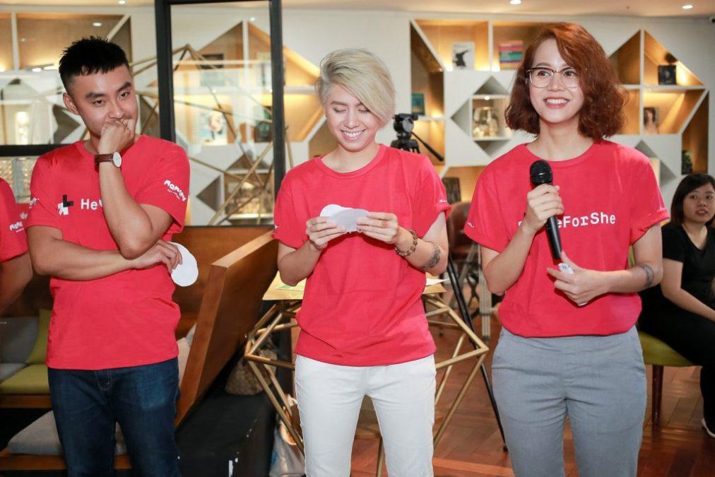 heforshe 13Dustin Nguyen Alex Nguyen An Nguy 1024x683 1012x675 - Áo thun sự kiện chiến dịch #HeForShe - UN Women Việt Nam
