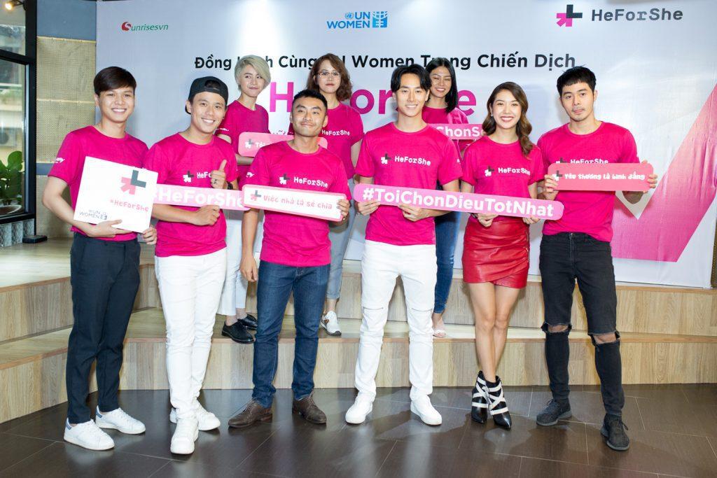 heforshe 16 TAF 0010 1024x683 - Áo thun sự kiện chiến dịch #HeForShe - UN Women Việt Nam