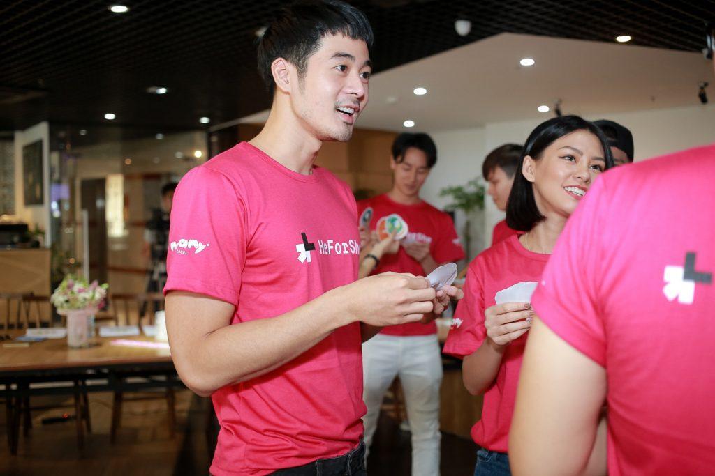 heforshe 18 TAF 0136 1024x683 - Áo thun sự kiện chiến dịch #HeForShe - UN Women Việt Nam