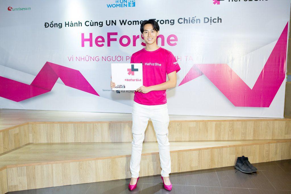 heforshe 20 TAF 9981 1024x683 - Áo thun sự kiện chiến dịch #HeForShe - UN Women Việt Nam