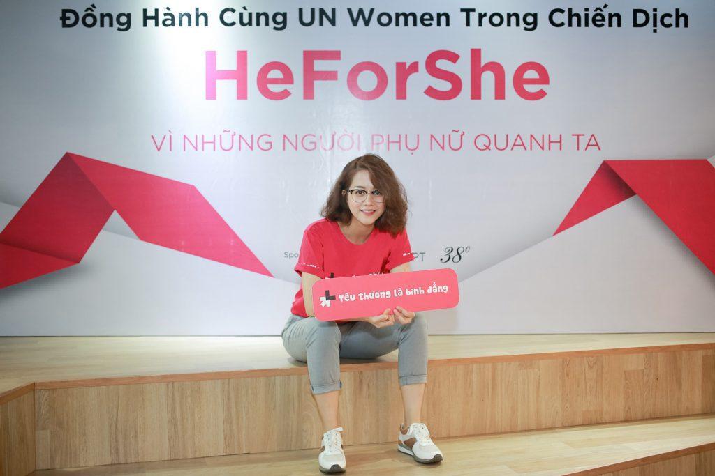 heforshe 5 An Nguy 3 1024x683 - Áo thun sự kiện chiến dịch #HeForShe - UN Women Việt Nam