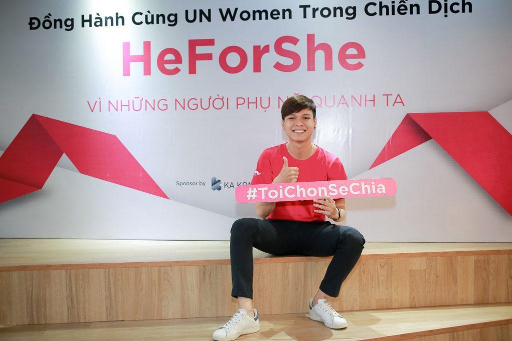 heforshe 9Ca si Doan Tuan Anh 2 1024x683 - Áo thun sự kiện chiến dịch #HeForShe - UN Women Việt Nam