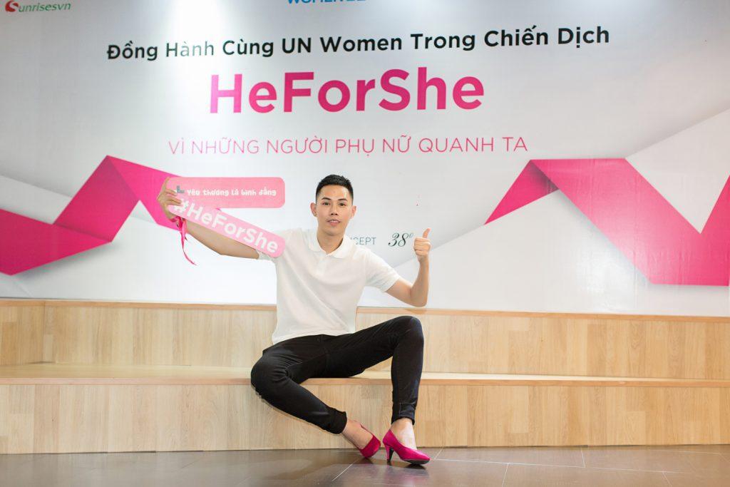 heforshe13 - Áo thun sự kiện chiến dịch #HeForShe - UN Women Việt Nam
