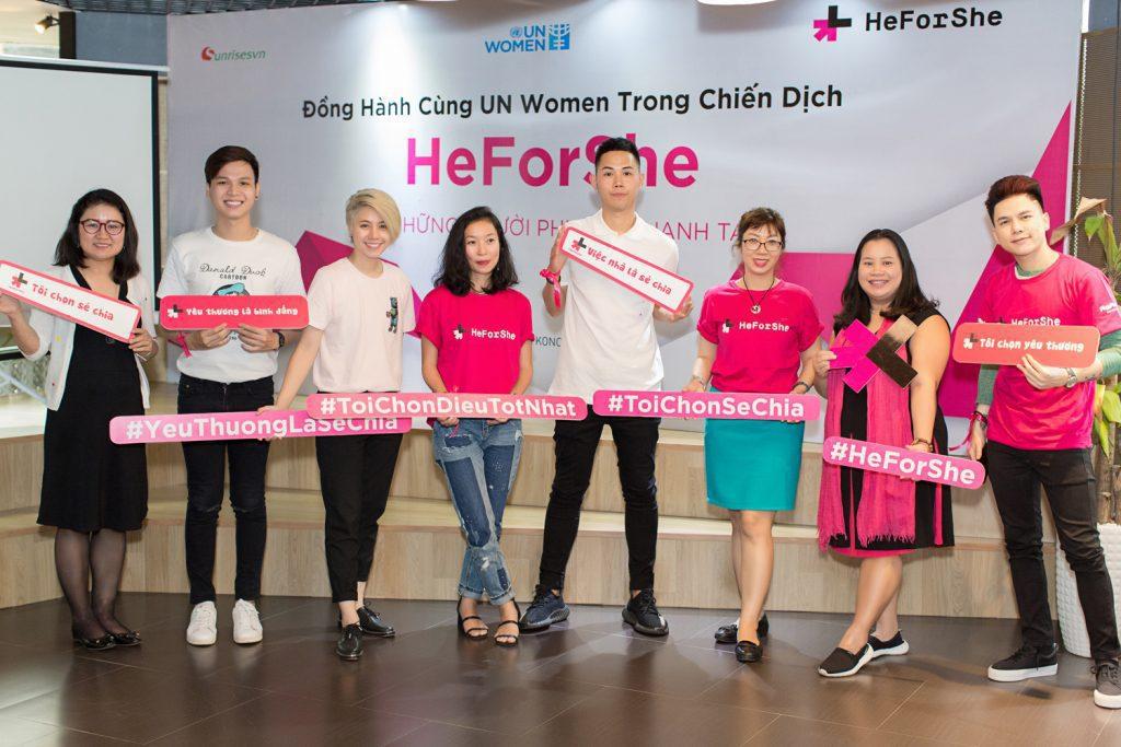 heforshe8 - Áo thun sự kiện chiến dịch #HeForShe - UN Women Việt Nam