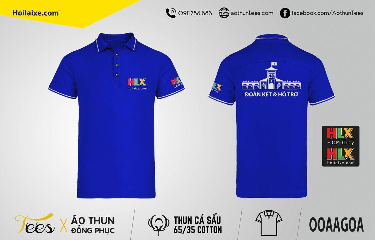 Áo thun đồng phục – Hội Lái Xe Việt Nam