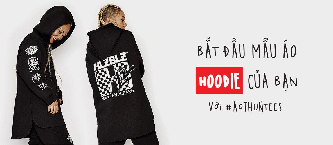 banner hoodie - Giới thiệu sản phẩm áo thun Hoodie - Sweater đồng phục