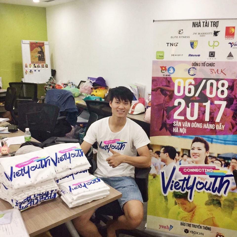 Áo thun Connecting Vietyouth (CVY) 2017