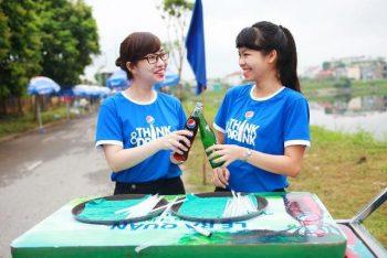Áo thun sự kiện chiến dịch Think & Drink của PepsiCo