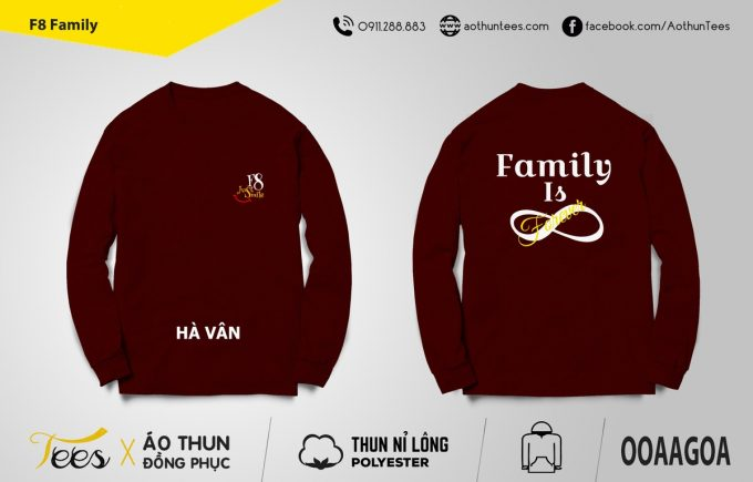 Áo sweater F8 Family