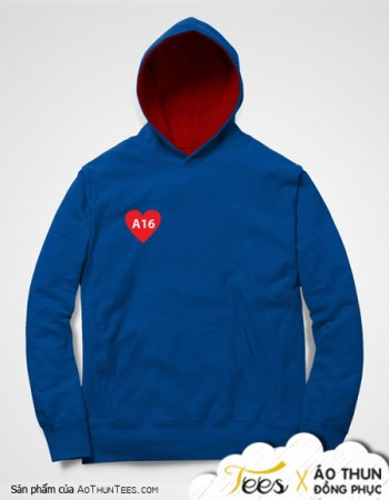 Áo hoodie lớp A16 trường THPT Long Xuyên