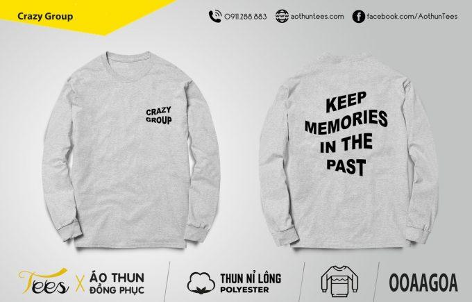 Áo sweater Crazy Group