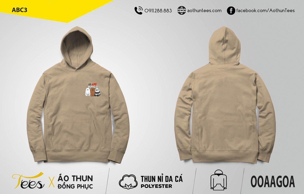Áo hoodie của bạn lớp c3 trường Mê Linh