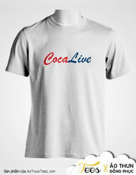 Áo thun CocaLive – Dịch Vụ LiveStream Hàng Đầu Việt Nam
