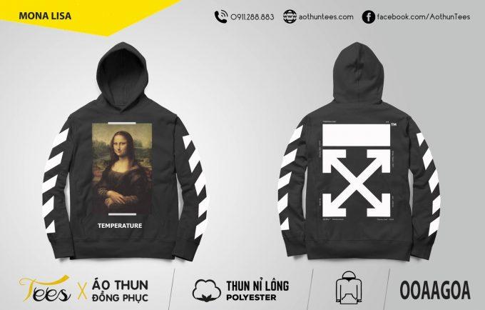 Áo hoodie Mona Lisa