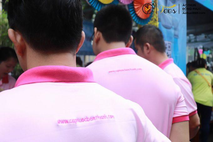 Áo thun đồng phục Công ty CPCN Bến Thành – Ngày hội Sawaco