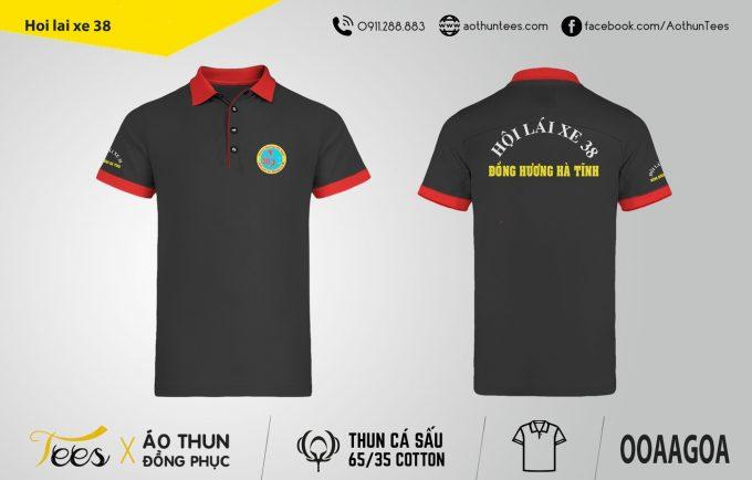 Áo thun đồng phục – Hội lái xe 38 – Hà Tĩnh