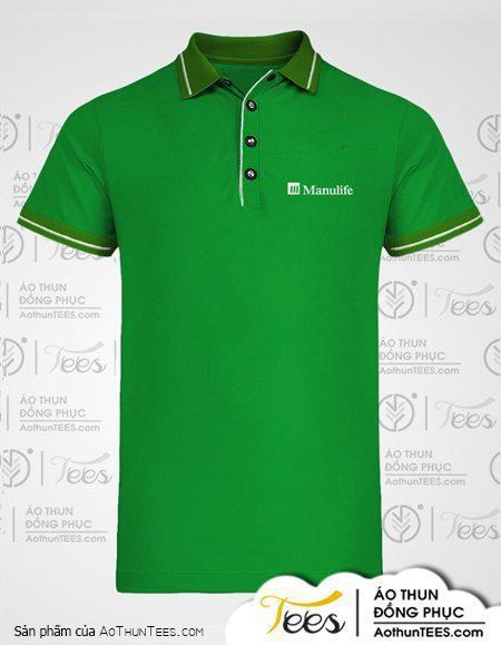 Áo thun đồng phục của Manulife Green