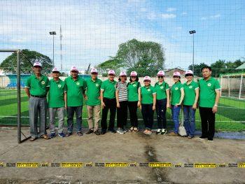 Áo thun màu xanh của tổ Vật Lý – Trường THPT Nguyễn Hữu Huân