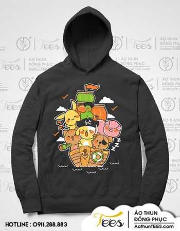 Áo hoodie đồng phục lớp 9B – THCS Phan Bội Châu