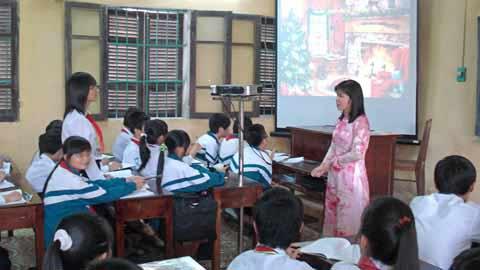 images2067343 Gio hoc mon Van cua co giao - Áo thun lớp 9A5 - Trường THCS Trần Đăng Ninh