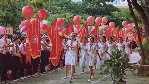 images2067350 Le dieu hanh trong ngay kha - Áo thun lớp 9A5 - Trường THCS Trần Đăng Ninh